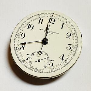 1904 18S NEW YORK STANDARD 7 JEWEL CHRONOGRAPH POCKET WATCH (D24)