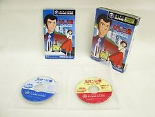 LUPIN THE 3RD Lost Treasure Under Sea Item REF/bbbc Game Cube Nintendo Japan gc