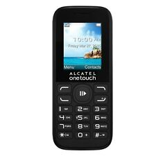 Alcatel One Touch 1052G Mobile Phone - Pay As You Go - Vodafone - Black
