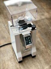 Eureka New Mignon SPECIALITA Espressomühle 55mm Scheiben * Weiß Chrom 16CR *DEMO