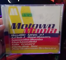 Motown Mania -  MUSIC CD- FREE POST *