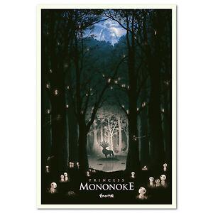 Princess Mononoke Poster - Exclusive Design 001 - High Quality Prints