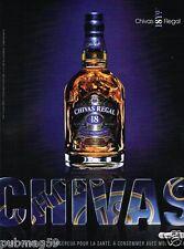 Publicité advertising 2007 Scotch Whisky Chivas Regal 18 Years