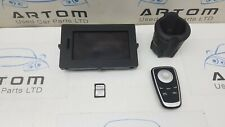 2010 RENAULT SCENIC MK3 SAT NAV SCREEN WITH REMOTE CONTROL 259154206R TOMTOM