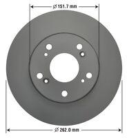 Disc Brake Rotor-Fully Coated Premium Brake Rotor Front (OE 45251-S6D-E10)