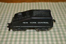 MARX O GAUGE NEW YORK CENTRAL SLOPE BACK  8 WHEEL BLACK TENDER