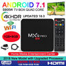 2019 MXQ PRO 4K QuadCore WiFi KODI 18.0 3D Smart TV Box Media Player Android 7.1