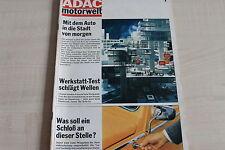 164906) Renault R 12 TL im TEST - ADAC Motorwelt 07/1970