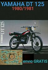 YAMAHA DT 125 JUEGO JUNTAS Athena P400485850101 DT 125
