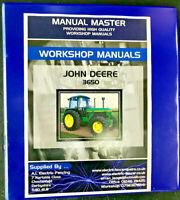 John Deere 3650 Workshop Manual,Fully Printed Hardback Manual,Free Postage