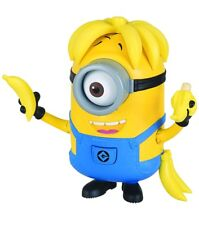 Despicable Me Minions Deluxe Action Figure Banana Crazy Carl Toy Figure Gift NEW