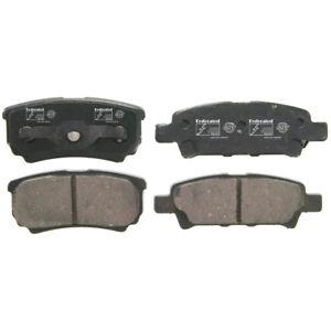 Disc Brake Pad Set-SST Rear Federated D1037