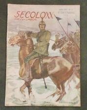 Rivista Popolare Illustrata Il Secolo XX  Anno XV  N° 12 Dicembre 1915 Dudovich