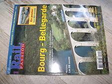 $$ Rail Passion N°85 Bourg Bellegarde Paris Genève BB 66400 Espagne