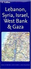 Reference Map – Lebanon, Syria, Israel, West Bank & Gaza (Reference Map S.),