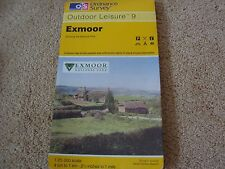 ORDNANCE SURVEY OS OUTDOOR LEISURE 9 EXMOOR 1:25000