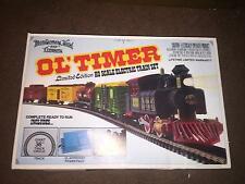 MONTGOMERY WARD & COMP. OL'TIMER LIMITED EDITION HO SCALE ELECTRIC TRAIN SET<NIB