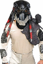Morris Costumes Men's Predator Deluxe Full Over The Head Latex Mask. RU68350