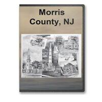 Morris County, NJ New Jersey History Culture Genealogy 20 Books - D283