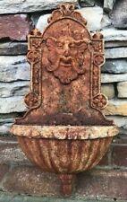 Garden Architectural Vintage Cast Iron Lion Wall Planter #2