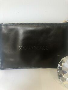 New Hourglass Vegan Leather Makeup Clutch Bag Pouch RRP £46