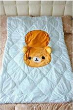San-x Rilakkuma Relax Bear Back Cushion Pillow Conditioning Blanket Christmas A+