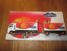 Ileburger ADVERTISING TRUCK LORRY MODEL NEW & OVP a SIP Home Top CHEAP!!!