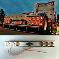 Für Tamiya SCANIA R620 R470 R730 1/14 RC Top Back LED Roof Light Bar Lichtleiste