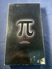 Pi (1998) - VHS Tape - Drama - Darren Aronofsky - Sean Gullette - Sticker