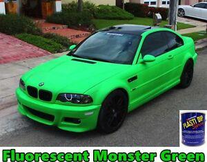 FLUORESCENT Gallon Monster Green Performix Plasti Dip Ready to Spray Sprayable