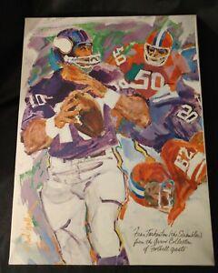 "Minnesota Vikings Fran Tarkenton ""The Scrambler"" Canvas Art Print - Arrow..."