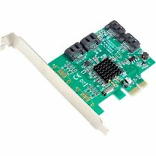 SYBA Multimedia SATA III 4-port PCI-e Controller Card, with Full and Low Profile