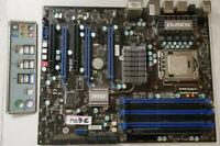 MSI MS7522 GAMING MOTHERBOARD LGA1366,Intel Core I7 920 2.66GHz CPU 4GB RAM#MBBC