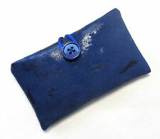 Handmade iPod nano 7th & 8th gen case/cover/pouch. Patterned faux suede fabric.