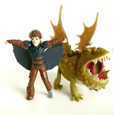 How To Train Your Dragon Meatlug Gronckle Figure Plus Free Hiccup Set Dreamworks