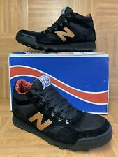 RARE🔥 New Balance Herschel Supply Co 710 H710HSB Sz 10 Black Hiker Boots Suede