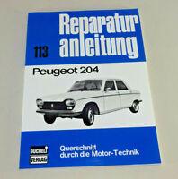 Reparaturanleitung Peugeot 204 - ab 1965