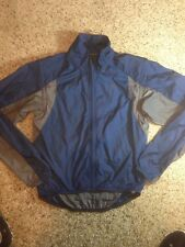 IMPERFECT Nike ACG Windbreaker light Jacket cycling running Mens Medium Blue Ked