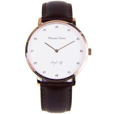 Alexandre Christie Simply Life Analog Gents Elegant White Dial Watch 8468MHLRGSL