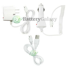 Micro USB Cable+Car+Wall Charger for Phone Samsung Galaxy Note 2 3 4 5 800+SOLD