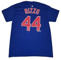 Chicago Cubs Men's Majestic Anthony Rizzo Jersey Shirt size Medium M - MLB Base