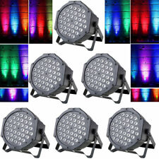 1-3pcs 72w 36led RGB Stage Light Par Club Party Disco DJ KTV Dmx512 Control Xams 3pcs