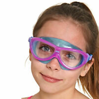 Zoggs Kids Phantom Junior Goggles in Pink/Blue with Clear Lenses