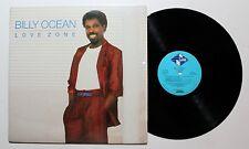 BILLY OCEAN Love Zone LP Jive Rec. JL8-8409 US 1986 VG+ IN SHRINK 03F