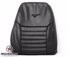 1999 Ford Mustang GT -Driver Side LEAN BACK Perforated Leather Seat Cover Black