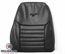 2000 Ford Mustang GT -Driver Side LEAN BACK Perforated Leather Seat Cover Black