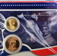 Four Medals in Original Mint Packaging 2010 First Spouse Bronze Medal Set