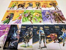 18 Card PVC Zelda Set Amiibo NFC Tags - Fierce Deity Wolf Link - HQ Both Sides
