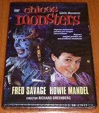 CHICOS MONSTERS / LITTLE MONSTERS - DVD R ALL English Español Precintada