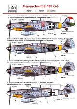 Hungarian Aero Decals 1/32 MESSERSCHMITT Bf-109G-6 German Fighter